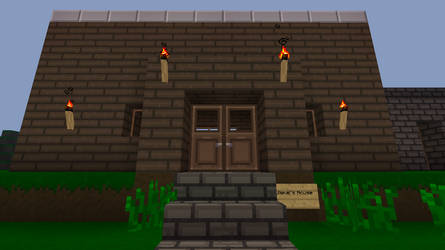 My minecraft house by James7100