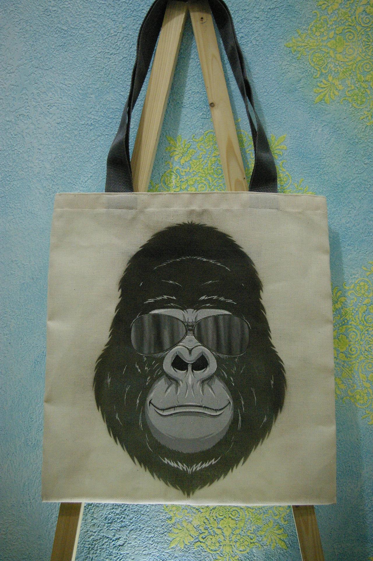 gorilla bag by flintofwitch on deviantart