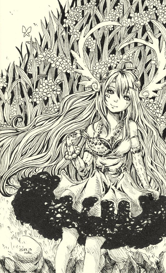 Girl by rufu-nguyen