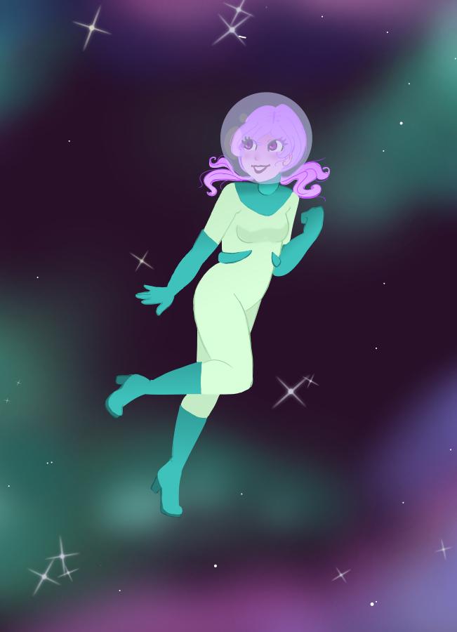Space Cadet by faerie-daze