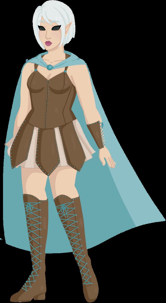 Nymph Ranger by faerie-daze