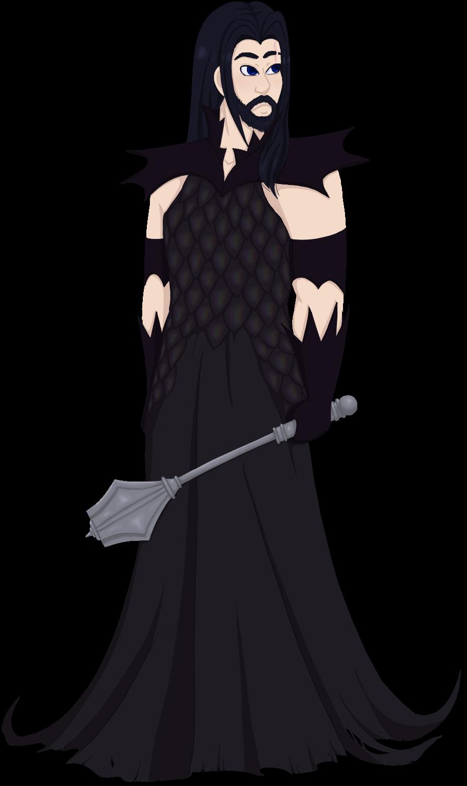 Dark Cleric by faerie-daze