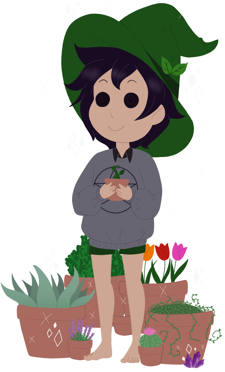 Little Witch Boy by faerie-daze