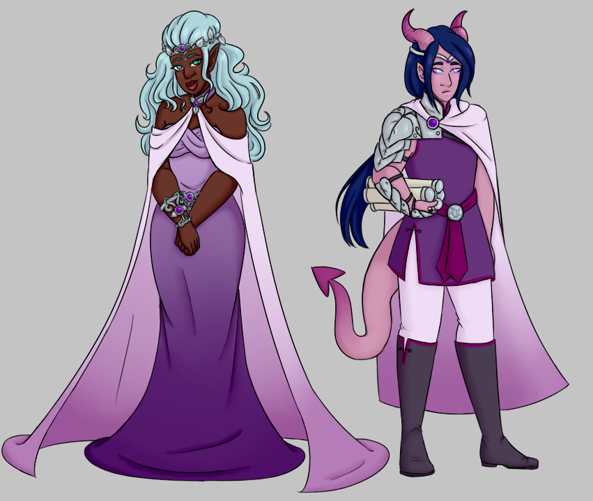Bard Quest: BoB- Prince and Princess by faerie-daze