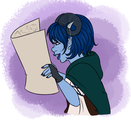 Jester and her Map by faerie-daze