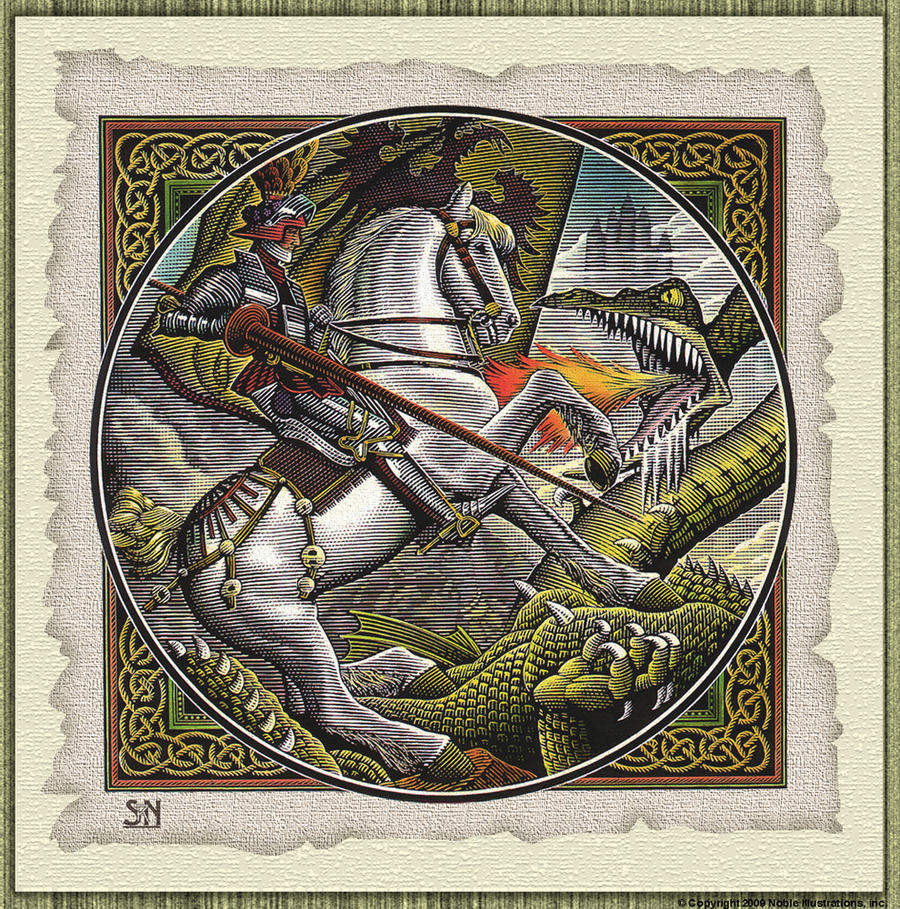 St george and the dragon by srnoble on deviantart for Tattoo shops in st george