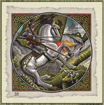 St. George and the Dragon by srnoble