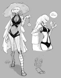 summer silber doodles by Vertigheist