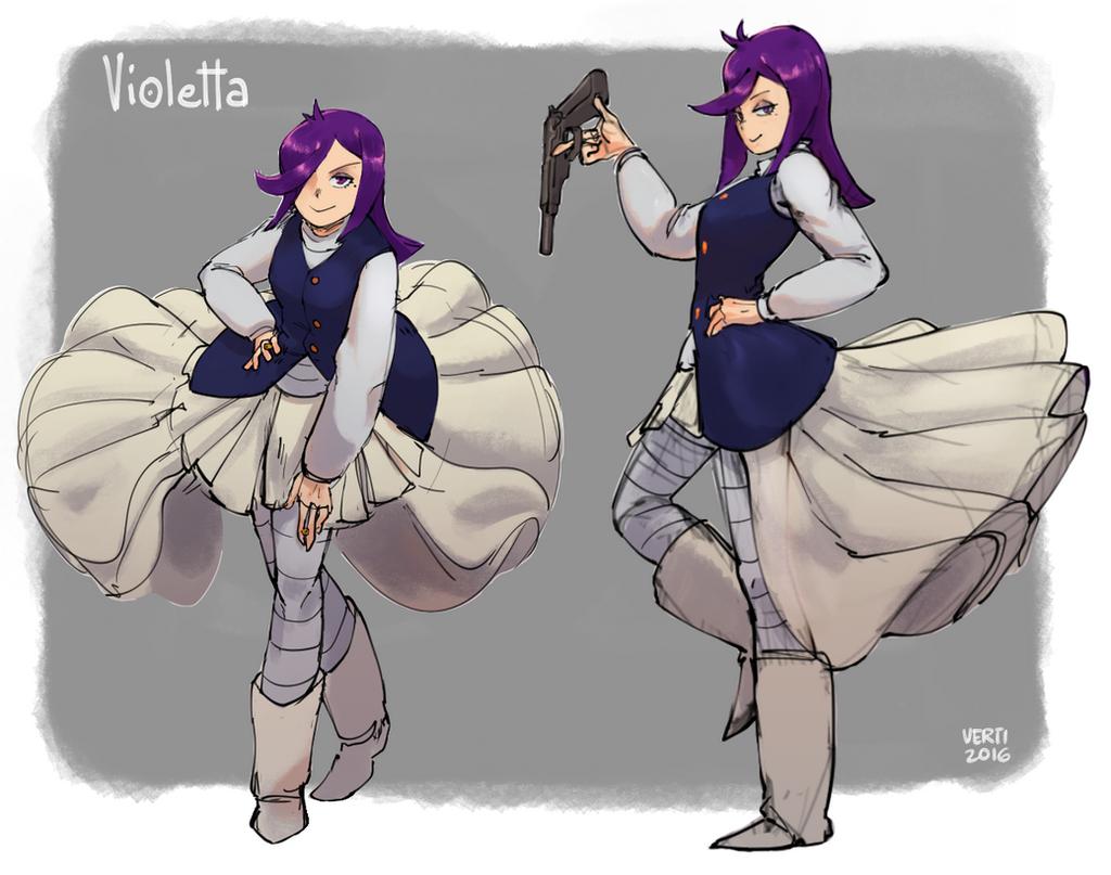 GHUN - Violetta by Vertigheist