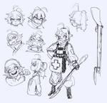 #Youjo Senki - Tanya doodles 1