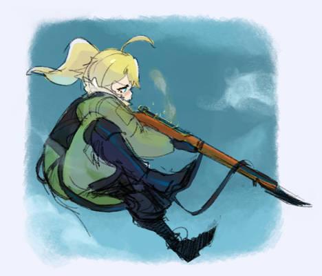 #Youjo Senki - Tanya doodles 2