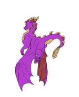 Spyro doodle by xoXmusicislifeXox