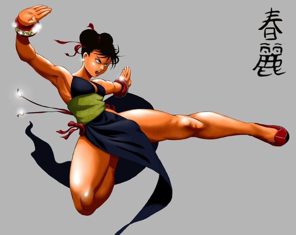 World anime pic & hot chun li  nackt clip
