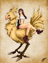 Final Fantasy - Tifa Lockhart by Diamond4444