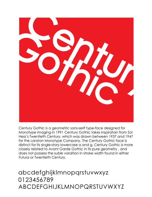 [FONTS] Packages de polices de caractères / Fichiers ZIP flashables [10.01.2014] Century_gothic_font_poster_2_by_luckyducky92-d38s1c3