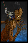 Rocket and Groot Color