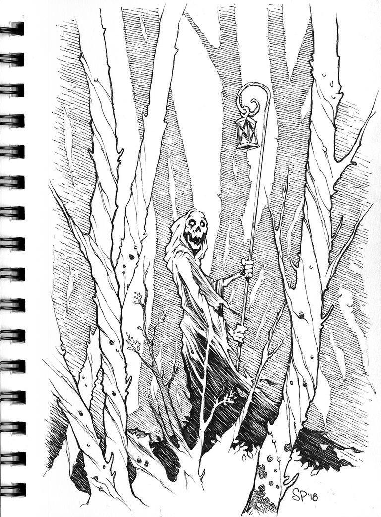 Crossing the Woodland Styx by voya