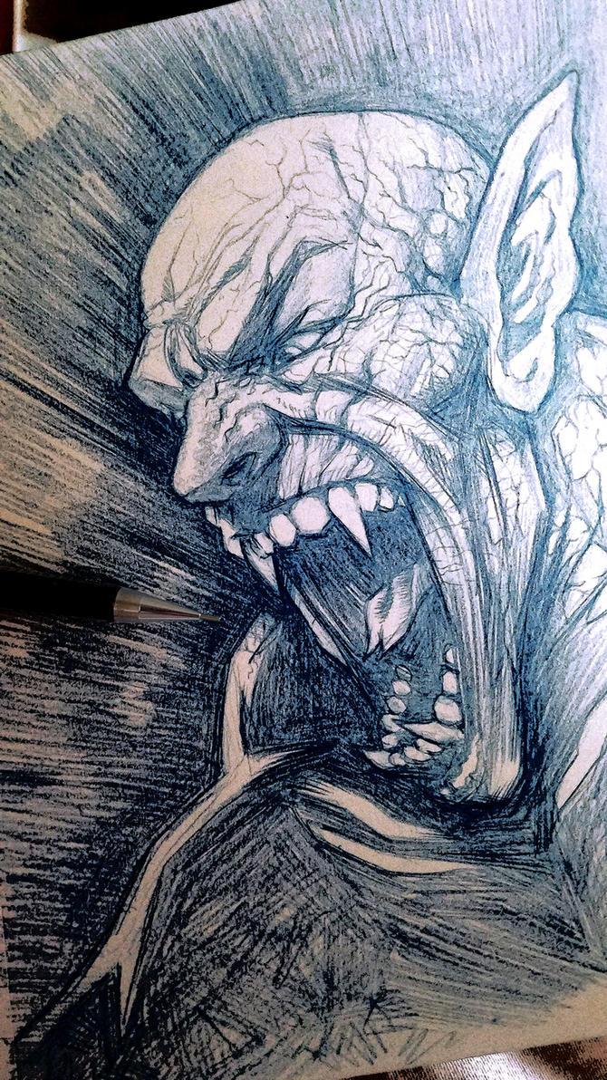 Creature of Rage by voya