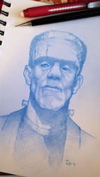 Frankenstein's Monster by voya