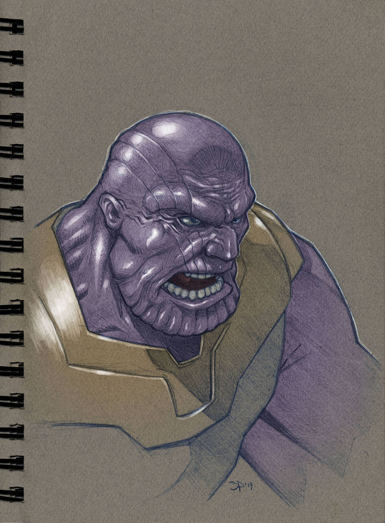 Thanos by voya