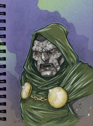 Doctor Doom by voya