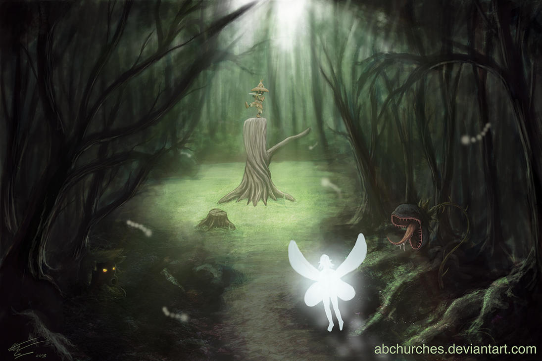 The Lost Woods by abchurches