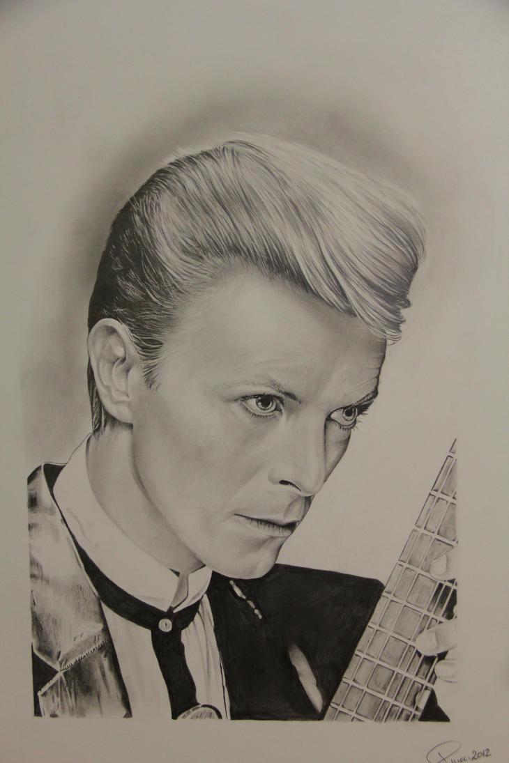 David Bowie by mephistofee