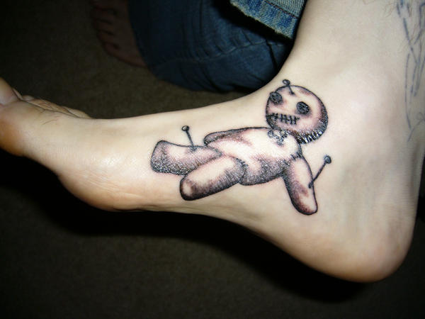 Tattoo 1 - Voodoo Doll by midnightsabotage on DeviantArt