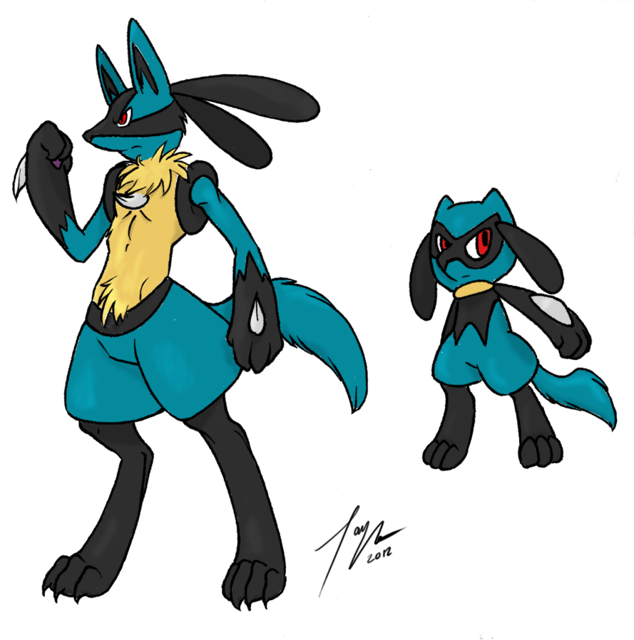 Riolu And Lucario   www.imgkid.com - The Image Kid Has It!
