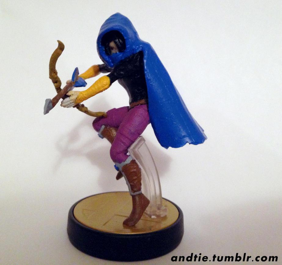 Last of the Order - Custom Towerfall Amiibo by Pavlovs-Walrus