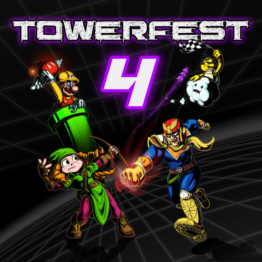 Towerfest Poster by Pavlovs-Walrus