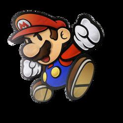 Paper Mario - Transparent