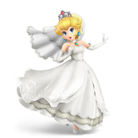 Wedding Peach - Alternate Costume - Transparent