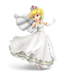 Wedding Peach - Alternate Costume - Transparent by Pavlovs-Walrus