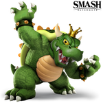 King Koopa - Alternate Costume - Transparent