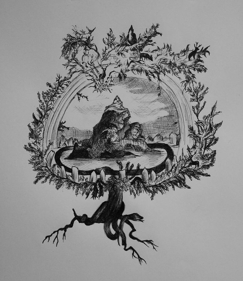 Yggdrasil Art Yggdrasil... by mithni...