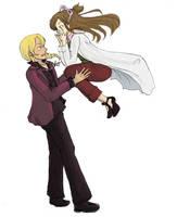 AJ - Hurry and catch her by lorymayhiko