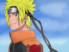 Naruto Uzumaki of Team 13 by Xaldror