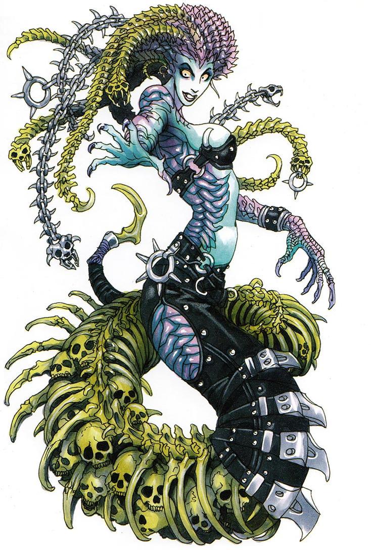 Medusa the Gorgon by Xaldror