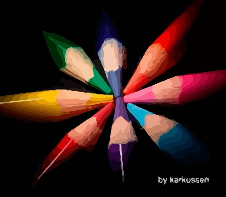 pencil colors by karkussen