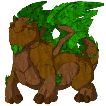 Tree Father Snapper Dragon M by NightmareSaber