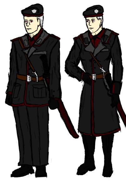 USM Dress Uniforms by MendedDragon