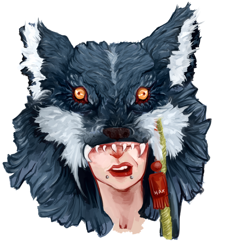 Wolves Girls And Wolf Girl: Wolf Girl By HaxPunch On DeviantArt