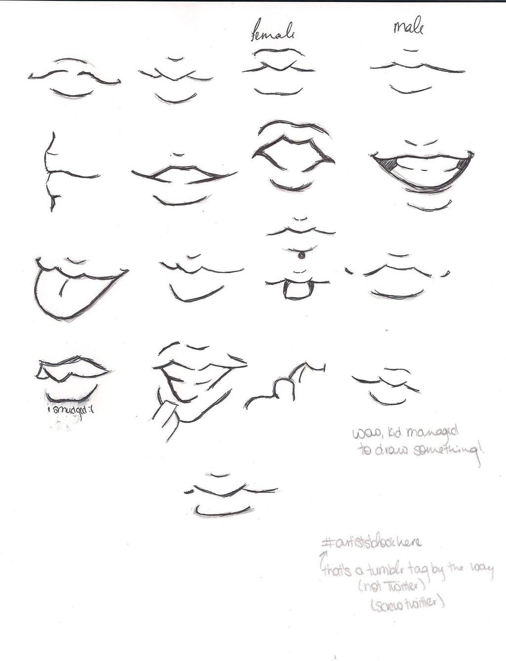 Lip References By Ibrokegimp On Deviantart