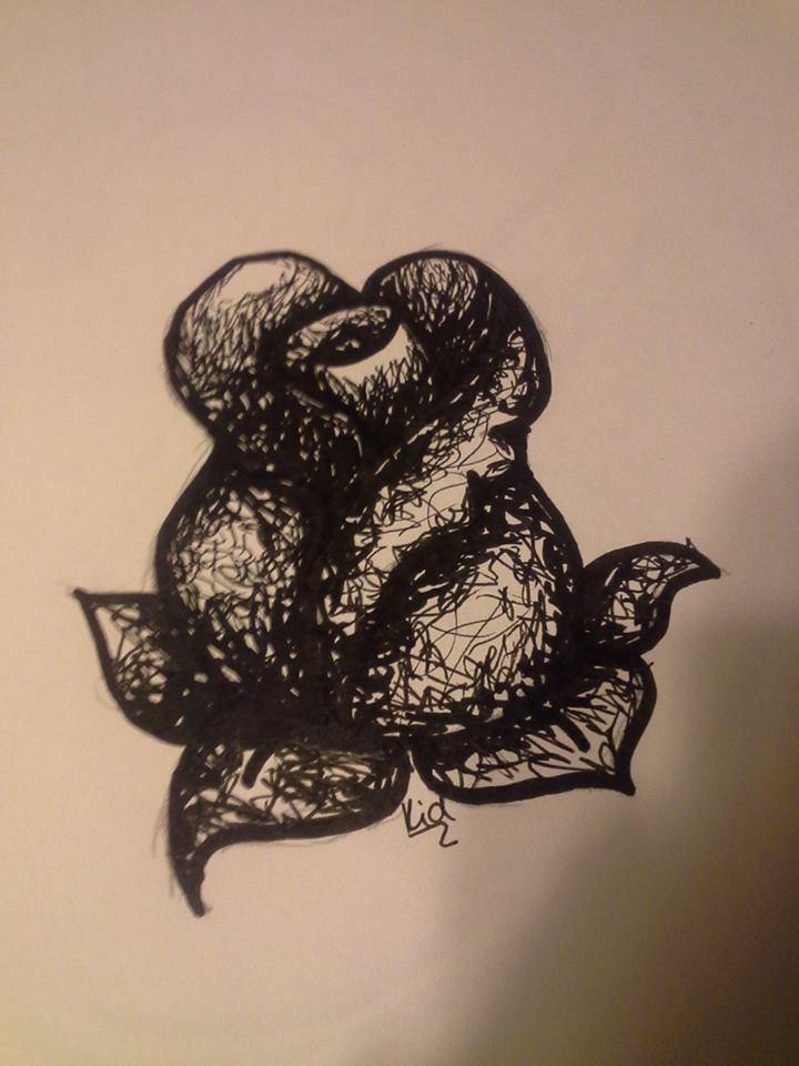 Roses of Black by ibrokegimp