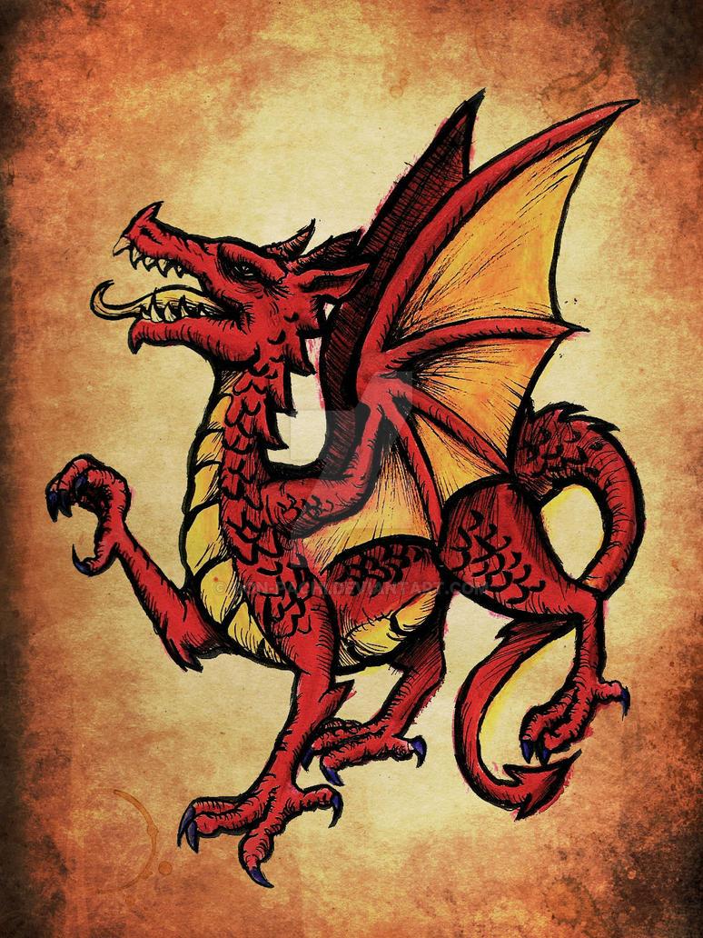 Dragon Heraldry: Heraldic Dragon By Don-Pachi On DeviantArt