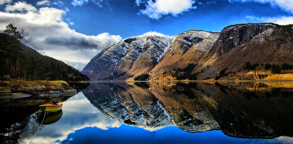 Norway mountains by mark1960 on DeviantArt
