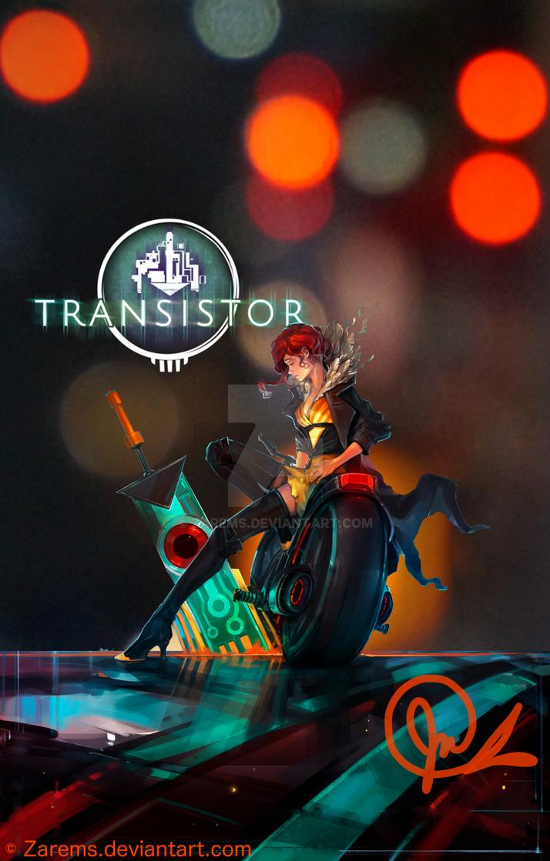 Poster design using gimp - Transistor Photoshop Gimp Poster Design By Zarems