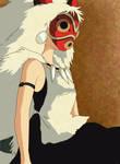 Princess Mononoke - mask