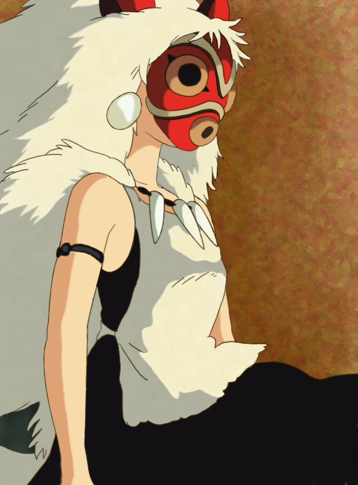 Princess Mononoke Mask By Sonda On Deviantart